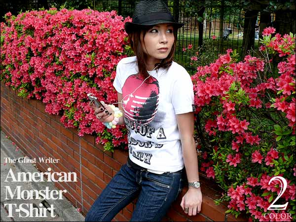 Pic up!! American Monster Tシャツ
