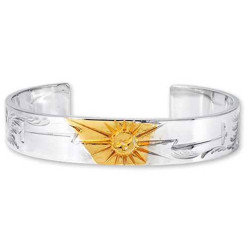 WSB6ABQS Arabesque Design 12mm Bangle SUN K24 Eagle Thunder Stamp_01.jpg