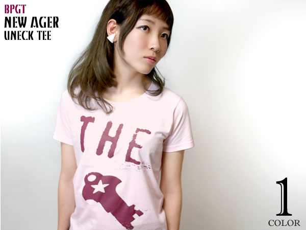 NEW!! 久々の「New Ager」をUネックTEE-タイプで作りました♪