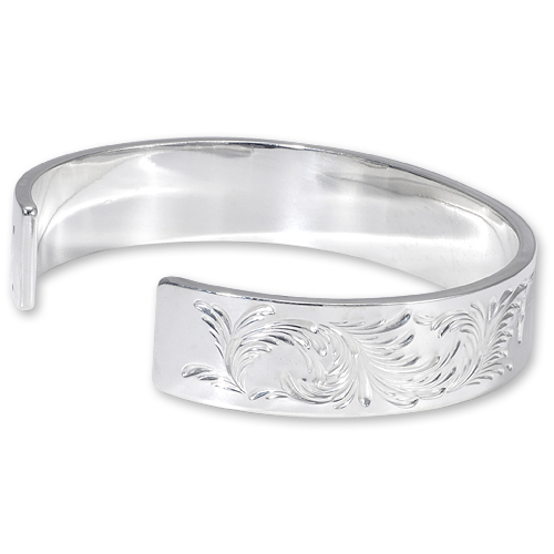 WSB6ABQS Arabesque Design 12mm Bangle SUN K24 Eagle Thunder Stamp_02.jpg