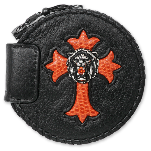 CP CHCRS LS001_CoinPurse Cowhide Lion on Cross_01.jpg