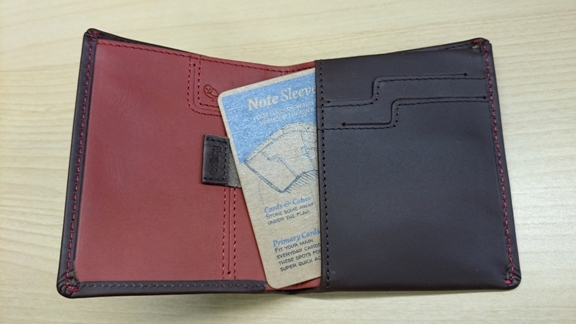 bellroy ベルロイ 財布 EVERYDAY Note Sleeve Wallet 感想 レビュー