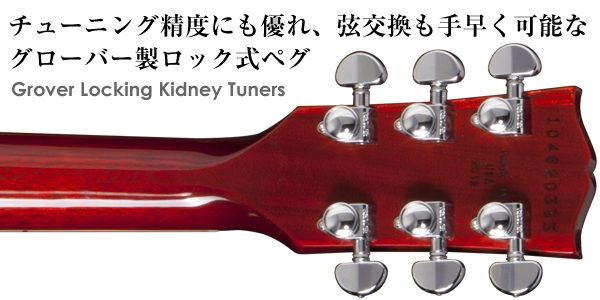 Grover Locking Kidney Tuners