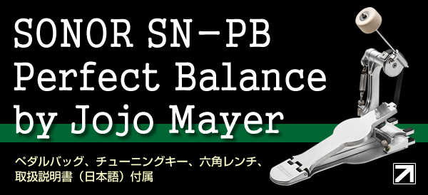 SONOR Perfect Balance by Jojo Mayer