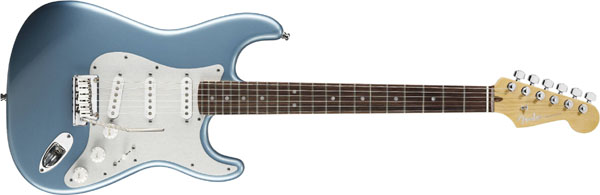 Fender USA FSR American Deluxe Stratocaster Ice Blue Metallic/Rosewood w/Silver Anodized Pickguard