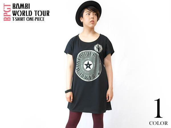 Bambi World Tour Tシャツワンピース をUPしました。