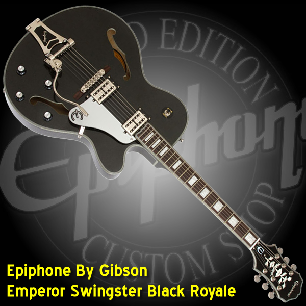 Epiphone By Gibson Emperor Swingster Black Royale-600x600