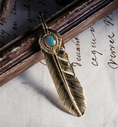 WGP11L WGP6L OKO_01old_L K18 Old Feather K18 Heart Feather Opal_image01 のコピー.jpg