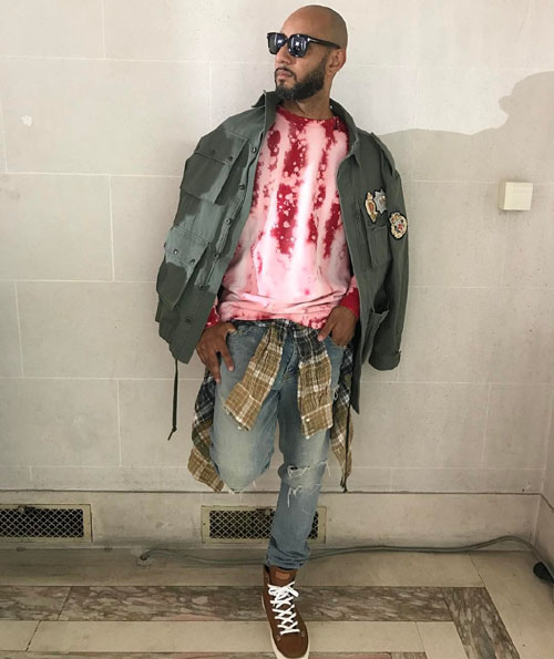 Swizz-Beatz-Faith-Connexion-jacket-Tom-Ford-shades-Saint-Laurent-jeans-Bally-sneakers.jpg