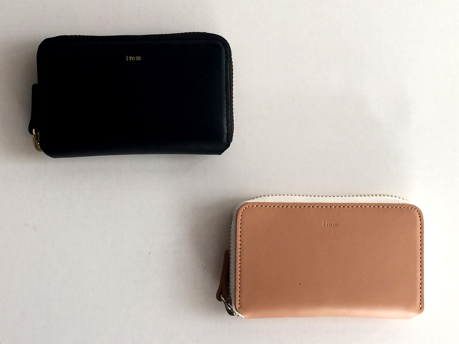 irose POP UP MINI WALLET 展開色