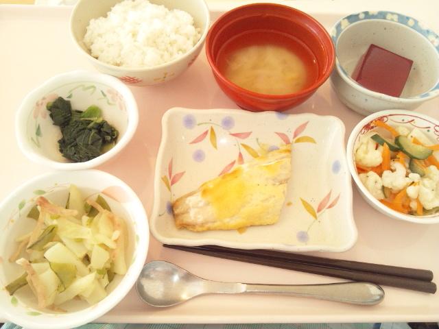 鰆の味噌マヨネーズ焼き