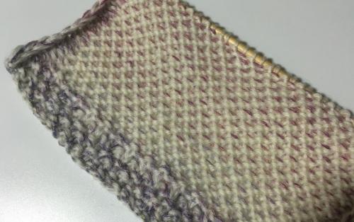 カウチン編み