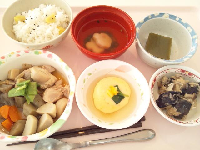 筑前煮・栗御飯(行事食)