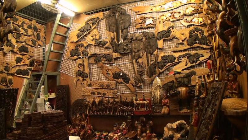 20-128-96~97 象の置物 壁掛け.JPG