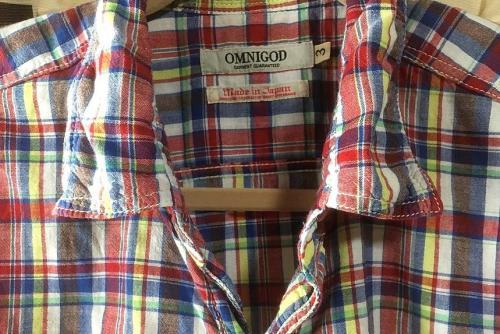 OMNIGOD 半袖ワークシャツ 56-016X  3.jpg
