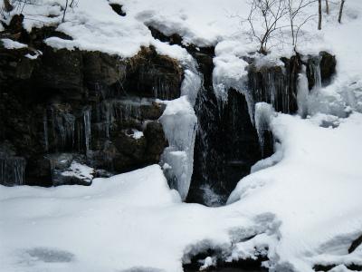 滝のツララ