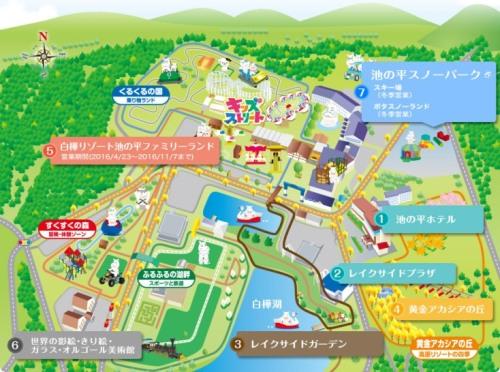 池の平リゾート-map