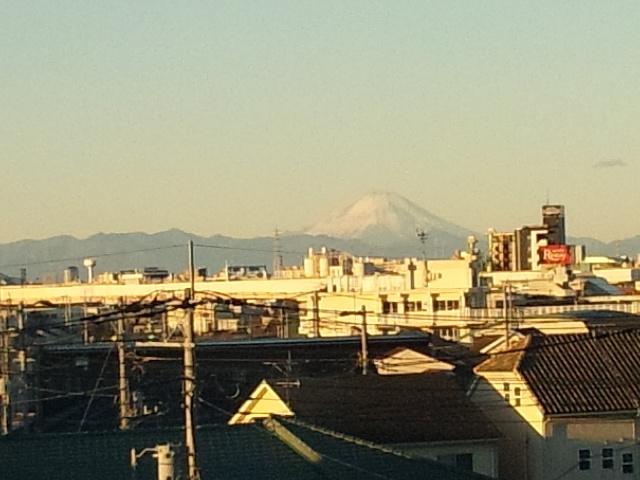 大晦日の富士山
