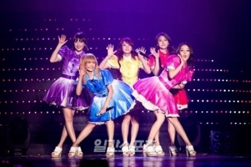 KARA、韓国で初の単独コンサート