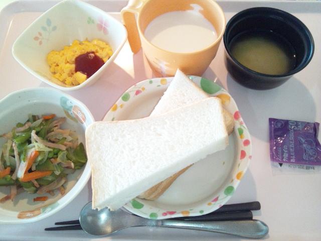 ハムと野菜の炒め物