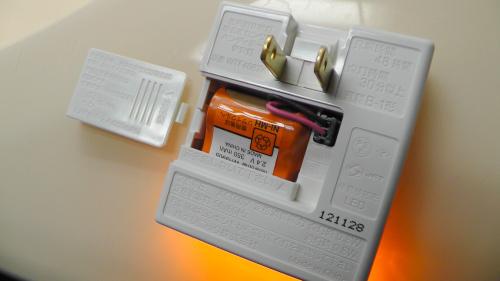 Panasonic 明るさセンサ付ハンディホーム保安灯 WTF4087WK