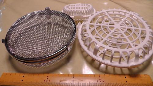 2種類の食洗機用小物カゴ