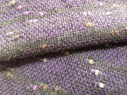 紫のマフラー