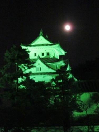 1写真 大垣城と月1.JPG