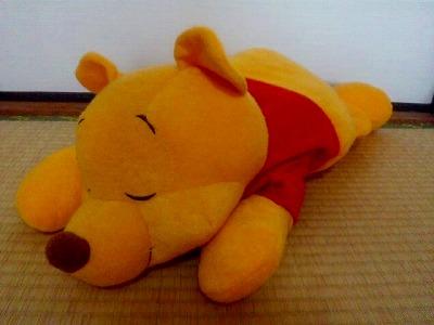 くまのプーさん お眠りプーさんぬいぐるみ