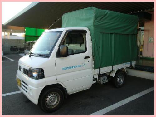 みずほ福祉助成財団助成車両 日産クリッパー軽トラック.jpg