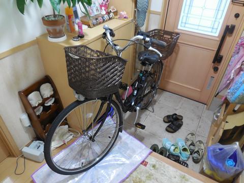 台風 自転車 備え