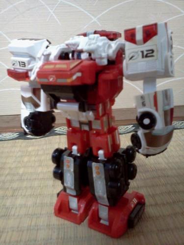 赤ロボ11