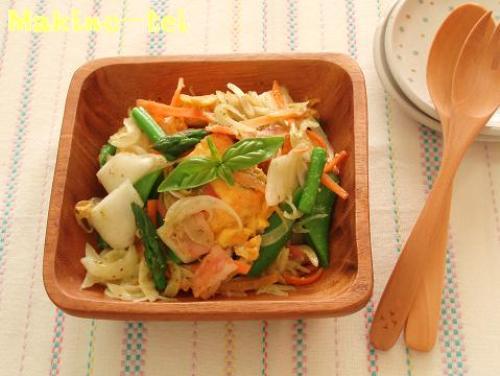 豆腐ピカタと春野菜のサラダ.jpg