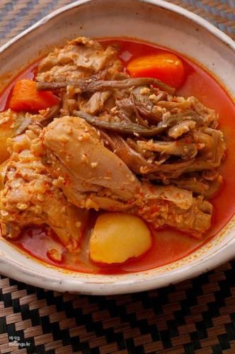 韓国料理 レシピ タッポックンタン(鶏肉のお鍋)