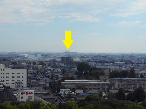 小牧山城(愛知・小牧市)