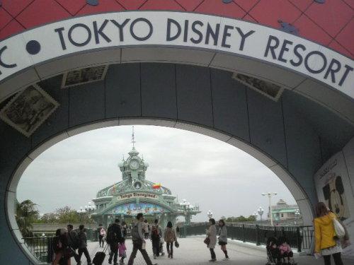 東京ディズニーリゾート(入口)