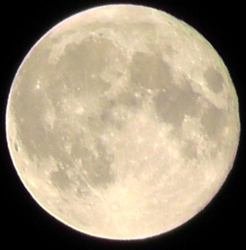 満月、スーパームーン
