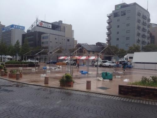 浜松餃子まつり雨.JPG