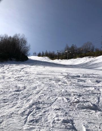 場 スキー やぶ 高原 はら