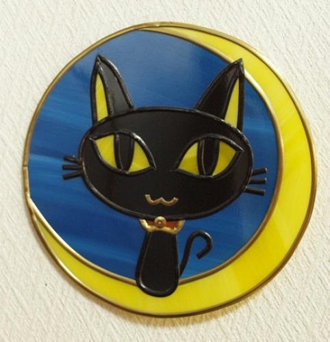 ハロウイン黒猫