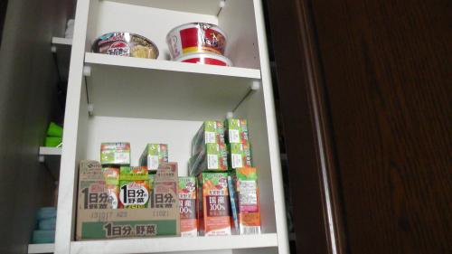 伊藤園の野菜ジュースを備蓄