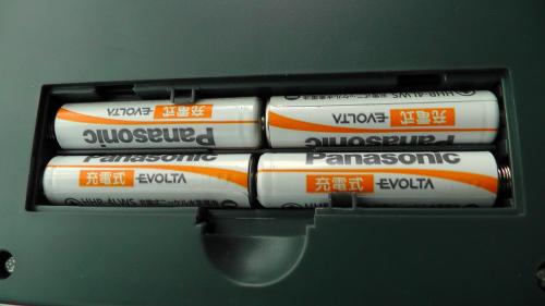 エボルタ充電池