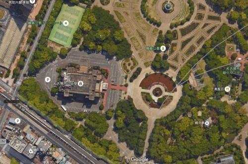 鶴舞公園-GoogleMap