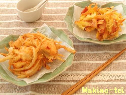かじき&さつま芋のかき揚げ.jpg
