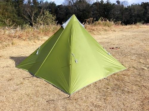 自作 テント スカート