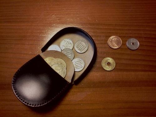 コインのしまい方