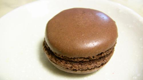 チョコのマカロン