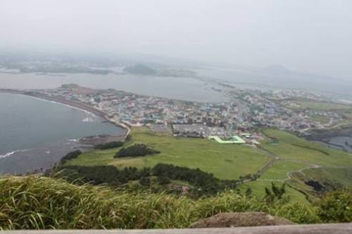 済州島 城山日出峰