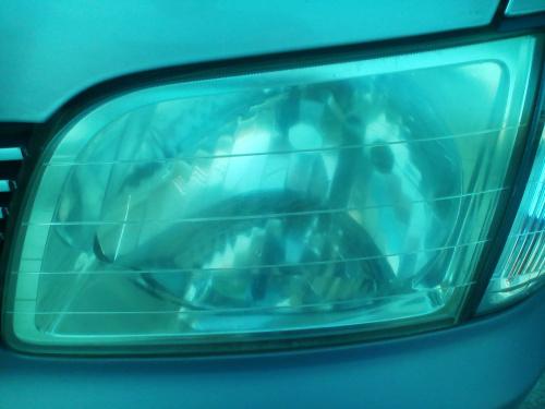 曇った樹脂ヘッドライトランプレンズ