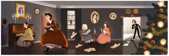 ルイーザ・メイ・オルコット生誕184周年